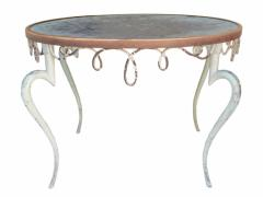 French Iron and Zinc Table - 1757861