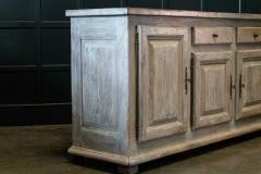 French Limed Oak Enfilade Sideboard - 1975697