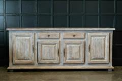 French Limed Oak Enfilade Sideboard - 1975698