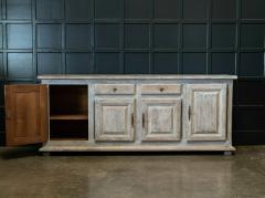 French Limed Oak Enfilade Sideboard - 1975699