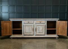 French Limed Oak Enfilade Sideboard - 1975700