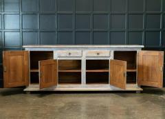 French Limed Oak Enfilade Sideboard - 1975702