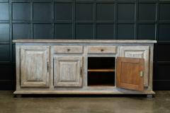 French Limed Oak Enfilade Sideboard - 1975703