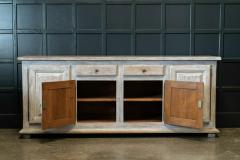 French Limed Oak Enfilade Sideboard - 1975704