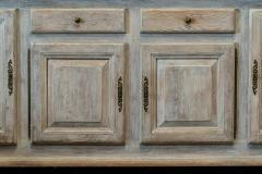French Limed Oak Enfilade Sideboard - 1975705