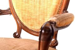 French Louis XV Armchair Wooden Fram - 1610830