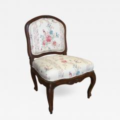 French Louis XV Period Slipper Chair   534447