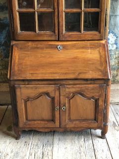 French Louis XV Secretaire Bookcase 1760 - 1039537
