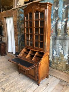 French Louis XV Secretaire Bookcase 1760 - 1039538