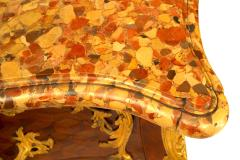 French Louis XV Style Inlaid Parquetry Commode - 741200