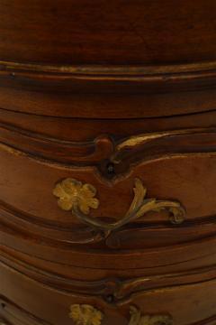 French Louis XV Walnut Kidney Kneehole Desk - 1429371