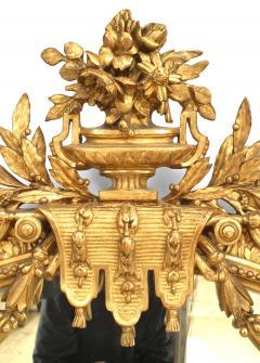 French Louis XVI Gilt Wood Wall Mirror - 1398871