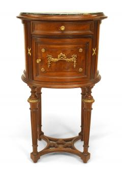 French Louis XVI Style Bedside Commode - 741283