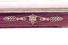 French Louis XVI Style Mahogany Table Desk - 1429006