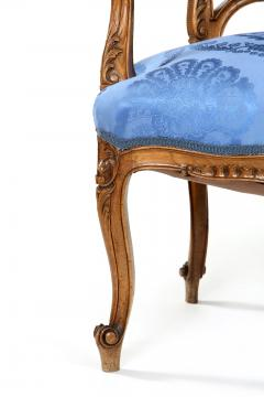 French Mahogany Framed Seating Two Piece Set - 1334577