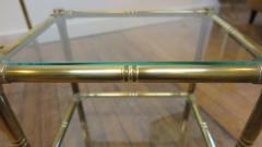 French Mid Century Brass Nesting Tables - 1854521