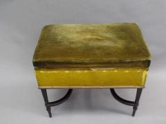 French Mid Century Modern Neoclassical Louis XVI Piano Bench - 1844441