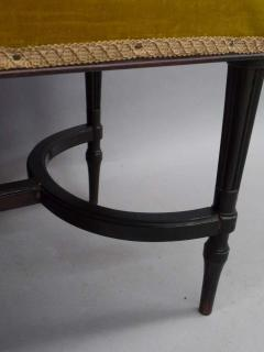 French Mid Century Modern Neoclassical Louis XVI Piano Bench - 1844444