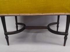 French Mid Century Modern Neoclassical Louis XVI Piano Bench - 1844446