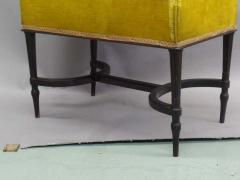 French Mid Century Modern Neoclassical Louis XVI Piano Bench - 1844447
