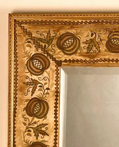 French Mirror with an 18th Century Fabric Border - 1629569