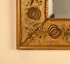 French Mirror with an 18th Century Fabric Border - 1629570
