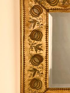French Mirror with an 18th Century Fabric Border - 1629571
