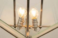 French Modernist Art Deco Pendant Light c 1930 - 1744456