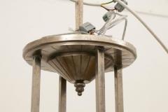French Modernist Art Deco Pendant Light c 1930 - 1744458