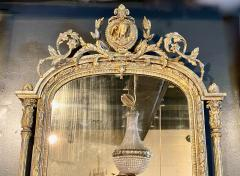 French Neoclassical Gilt wood Mirror 19th Century - 1916584