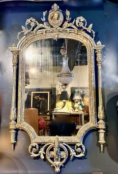 French Neoclassical Gilt wood Mirror 19th Century - 1916585