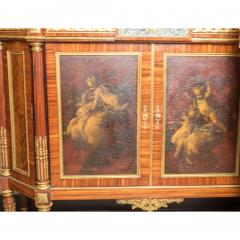 French Ormolu Mounted Kingwood and Vernis Martin Side Cabinets - 1991119