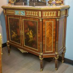 French Ormolu Mounted Kingwood and Vernis Martin Side Cabinets - 1991125