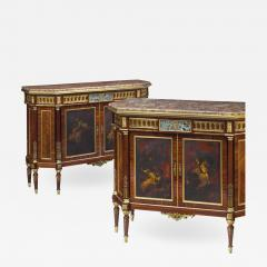 French Ormolu Mounted Kingwood and Vernis Martin Side Cabinets - 1995132