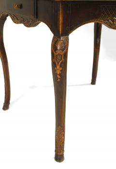 French Provincial Floral Carved End Table - 1437526