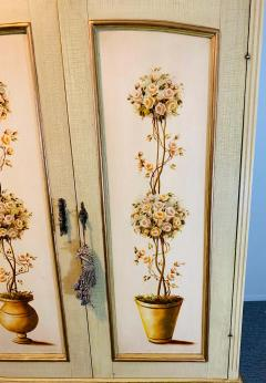 French Provincial Hand painted Armoire or Cabinet - 1726751