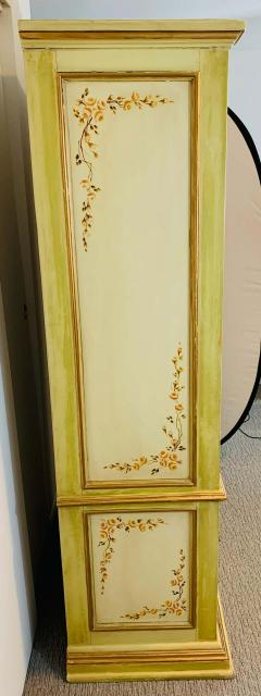 French Provincial Hand painted Armoire or Cabinet - 1726759