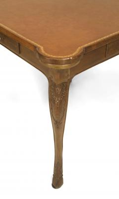 French Provincial Louis XV Style Walnut Game Table - 1429840