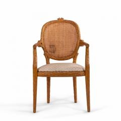 French Provincial Wooden Arm Chair - 1402536