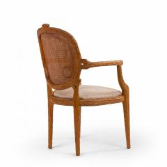 French Provincial Wooden Arm Chair - 1402540