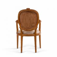 French Provincial Wooden Arm Chair - 1402541
