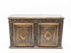 French Renaissance carved oak sideboard 18th century - 1081925