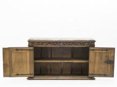 French Renaissance carved oak sideboard 18th century - 1081930