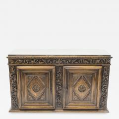 French Renaissance carved oak sideboard 18th century - 1083055