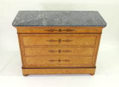 French Restauration Burr Ash Chest of Drawers c 1825 - 755568