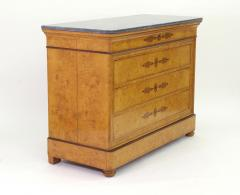 French Restauration Burr Ash Chest of Drawers c 1825 - 755569