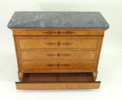 French Restauration Burr Ash Chest of Drawers c 1825 - 755570