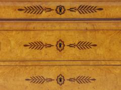 French Restauration Burr Ash Chest of Drawers c 1825 - 755571