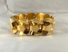 French Retro 18K Gold Bracelet - 165096