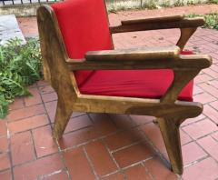 French Riviera awesome olive tree brutalist seating set of 1 couch and 4 chairs - 1681818